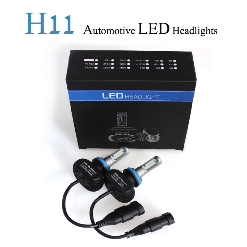 2017 Hot Sale Special Offer Car Led Headlight H11/h8/h9 Beam Head Lamp 50w/pair Auto Fog Bulb Fan-less 12-24v 8000lm Light<br><br>Aliexpress