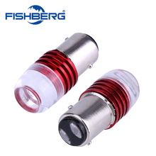 2pcs Auto LED 1157 BAY15D 3W COB Concave Lens Explosion Strobe Flashing Red 12V P21/5W Car Brake/Turn Signal Lamp Bulb(China)