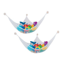 1Pc New Arrival 1 Pc White Great Hanging Toy Hammock Net Kids Baby Animal Storage Bag Organizer(China)