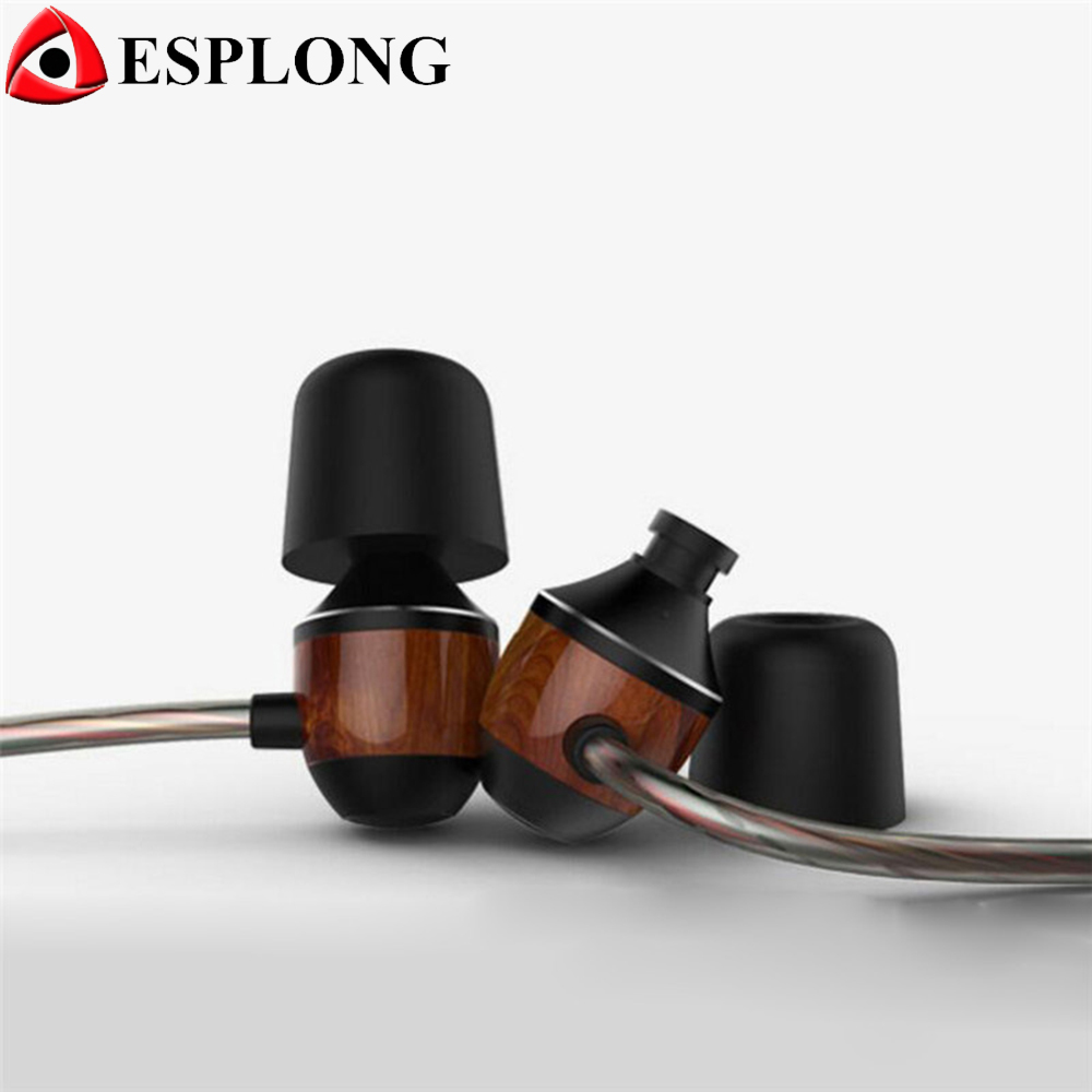 High Quality VJJB K4S Wooden In-Ear Earphone Stereo Sport Music Auriculares With Microphone for iPhone xiaomi Samsung<br><br>Aliexpress
