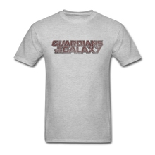 Guardians Of The Galaxy Classic Logo  Shirt For Man Screen Printing White Short Sleeve Men Shirt Plus Size