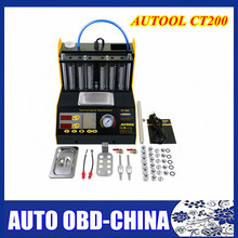 AUTOOL CT200 4 Cylinder Auto Fuel injector cleaner CAR tester tool gasonline Car Motorcycle Auto Ultrasonic Injector cleaning