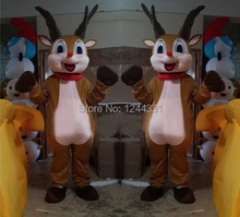 Hot selling 15  hot sale Milu deer mascot costumes commemorate the yule stage props to advertise/and different festival supplies