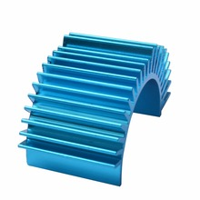50pcs Aluminum Heatsink Alloy 550 brushless motor radiator heat sink Model car accessories