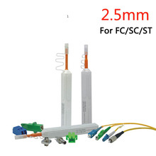1pcs 800+ Cleans Fiber Optic Cleaner Pen For FC SC and ST 2.5mm Connector Fiber Cleaner Tools ,VD-CPB1(China)