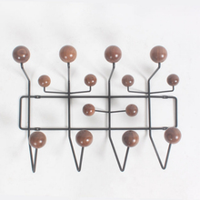 Wall Coat Rack Multicolors Fashion Candy Hanger Wall Hook Hang It All Bag Hat Wood Balls Modern Wall Clothes Hanger Rack Hanger