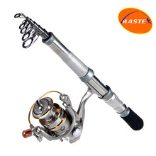 Hot!!New 2.4m 9 sections powerful telescopic fishing rod sea ultra light hand rod lure rod spinning fishing rod outdoor