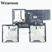 For HTC Desire SV T326E Sim SD FPC Tested High Quality T326E Sim Card Slot Flex Cable Free Shipping With Tracking Number