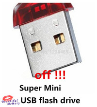 High speed cheap price red super mini usb flash drive USB creative usb stick 2GB 4GB 8GB 16GB 32G 64GB pen S587(China)