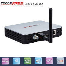 Full HD New satellite decoder tocomfree i928ACM  + 1 pcs wifi antenna iks free nEWCAM CCCAM PowerVU for South America