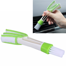 1PCS Car Washer Microfiber Car Cleaning Brush For Air-condition Cleaner For Citroen Honda Toyota Peugeot Volkswagen(China)