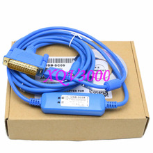 Programming Cable for USB-SC09 MELSEC FX & A PLC win7 USB to RS422 adapter blue