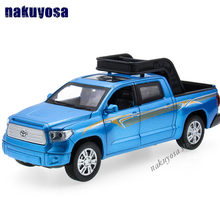 1/32 Scale Car Model Ford Raptor F150 styles Toyota Truck SUV diecast With Light & Sound Kids Toys