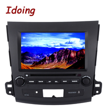 "Idoing 2Din 8"" 2G+32G For Mitsubishi Outlander Android 6.0 Steering-Wheel Octa Core Car GPS DVD Player Navigation Fast Boot 4G"