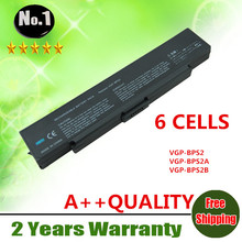 Wholesale New 6cells laptop battery FOR SONY VAIO VGN PCG VGC Series VGP-BPL2C VGP-BPS2.CE7 VGP-BPL2.CE7 VGP-BPS2  free shipping