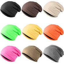 New Fashion Men Women Beanie Top Quality Solid Color Hip-hop Slouch Unisex Knitted Cap Winter Hat Beanies