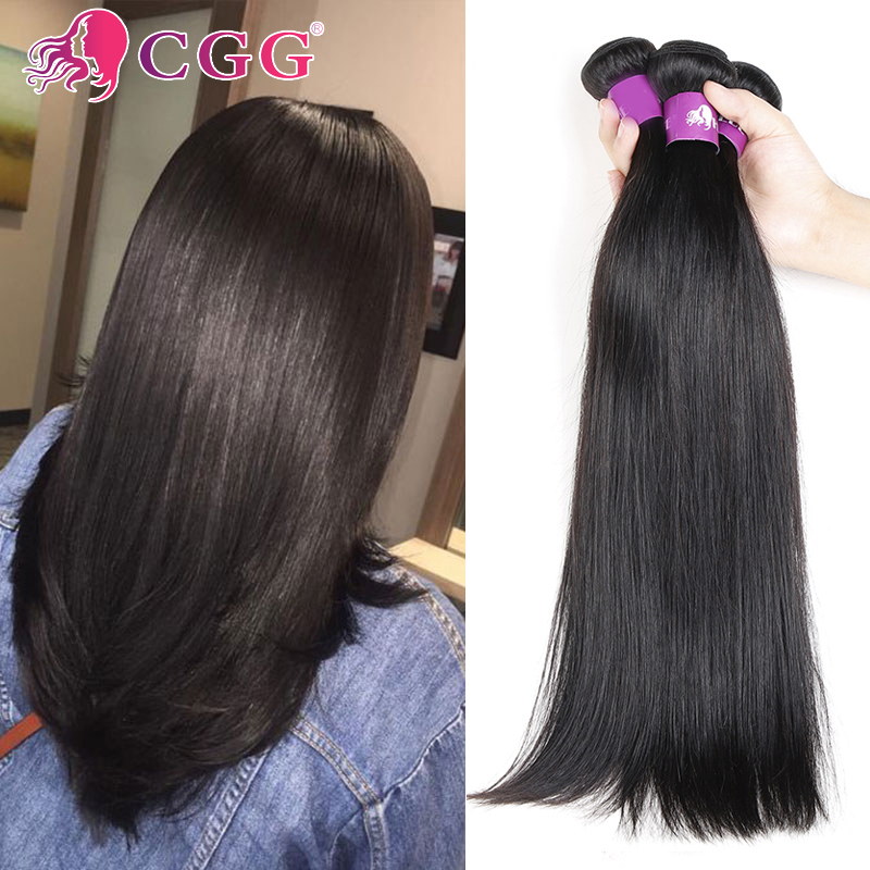 Unprocessed 7A Brazilian Virgin Hair 4 Bundles Straight Human Hair Top Selling Virgin Brazilian Straight Hair Natural Black Hair<br><br>Aliexpress