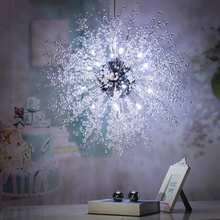 Dandelion acrylic decoration Bulb led fancy lamp modern style bedroom fitting pendant light living room(China)
