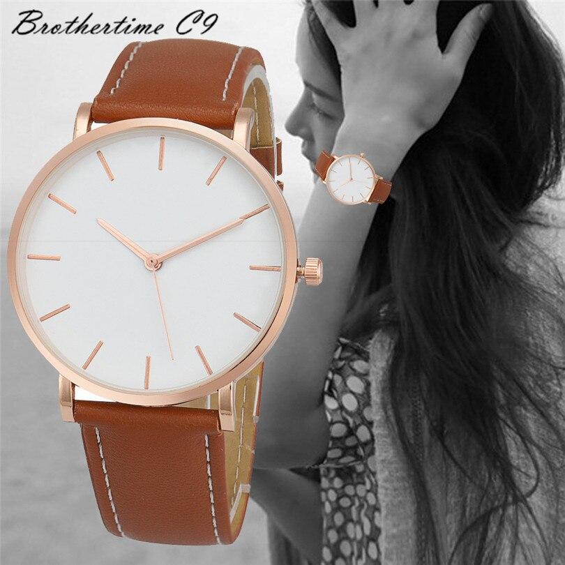Relogio Feminino Retro Design Leather Band WristWatch Analog Alloy Quartz  Watches Relojes Mujer Montre Hight Quality   <br><br>Aliexpress