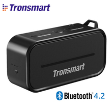 Original Mini Wireless Tronsmart Element T2 Bluetooth 4.2 Outdoor Portable Speaker Water Resistant Speaker for MP3 Smart Phones