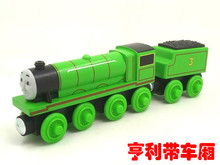 RARE NEW HENRY &TRUCK Original Thomas And Friends Wooden Magnetic Railway Model Train Engine Boy / Kids Toy Christmas Gift(China)