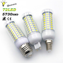 10pcs G9 E27 E14 25w 20w 15w 13w Lamparas Led Light Bulb 220V SMD 5730 Ampoule LED Energy Saving Lamp Lighting Milight Lampen