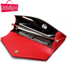 BVLRIGA Genuine Leather Bag Summer Women Handbag Black Small messenger Shoulder Female Chain Evening Hard Clutch Wedding Red - Store store