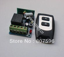 Manufacturers selling DC 12V 1 CH 315Mhz/433Mhz RF Wireless Remote Control Controller + case remote control supplier