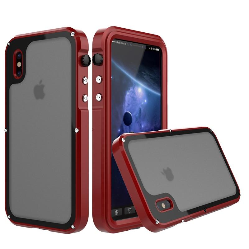 for iphone x metal waterproof case (3)