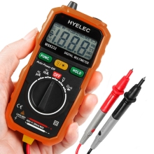 2016 HOT high quality HYELEC MS8232 Non-Contact Mini Digital Multimeter DC AC Voltage Current Tester  DC AC Test Voltage on sale