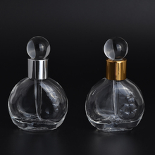 MUB 2017 13ml Crystal Sample BottleTravel Empty Perfume Containers Perfume Bottles Best Gift Refillable Bottles portable bottle(China)