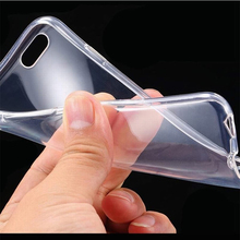 10PCS Flexible Clear TPU Case For Iphone 6 S 6s S Slim Crystal Back Protect Skin Rubber Phone Cover Fundas Silicone Gel Cases