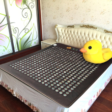 Good Jade Mat Health Care Heating Bed Massage Mattress Physical Therapy Heat Mat 2 Size for You Choice(China)