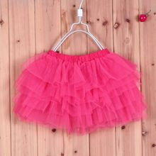 fashion girls skirt 2016 new style children's skirts girls tutu skirts kids baby fluffy pettiskirts retail 4-11 age 2016 New