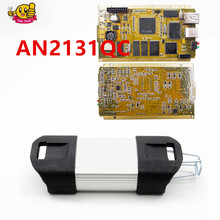 Full chip For Renault Clip V169 Gold CAN Clip Full Chips AN2131QC Best For Renault Car Diagnostic Interface(China)
