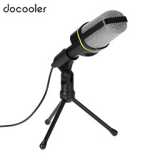 3.5 mm wired microphone Professional Recording Vocals & Acoustic Instruments Condenser microfone with Tripod For Laptop/PC