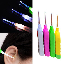 Hot Fashion Creative New Arrival 1pc Light Ear pick Clean Wax Remover Cleaner Picker Ear-Pick Curette Gadget Unique Design Cheap(China)
