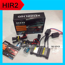 3 set DHL ship hid headlight bulb lamp HIR2 9012 bulbs with HID ballasts for HIR2 hid kit 6000K for 2014 Luxgen 7 SUV low beam