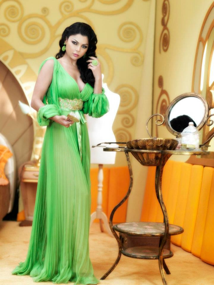 2018 Saudi Arabia Singer V-Neck Chiffon Long Sleeve kaftan Evening gown Robe de soiree evening gown mother of the bride dresses