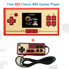"CoolBaby RS-20 Classic Retro Game Console Handheld Portable 2.6"" 600 Games Pocket free cartridge 2nd Player Controller for FC"