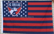 College FC Dallas Stars & Stripes Flag 3ft x 5ft USA Flag(China)