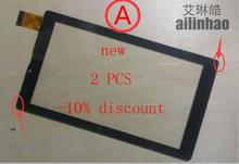 ailinhao 7''New Digma Optima 7008 3G TT7053MG Tablet touch screen digitizer glass touch MF-874-070F SE-399-070F Free Shipping(China)