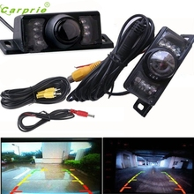 New Arrival Night Vision Parking Car Rear View Wide Angle LED Reversing Camera Ap511(China)