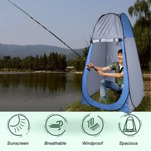 (Ship From US) Portable Pop Up Dressing Changing Tent Picnic Camping Beach Fishing Toilet Shower Room Tents & Carrying Bag(China)