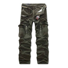 Mens Pants Work Trousers Classic Military Army Combat Camo Long Pants Zipper Fly Multi Colors 0249