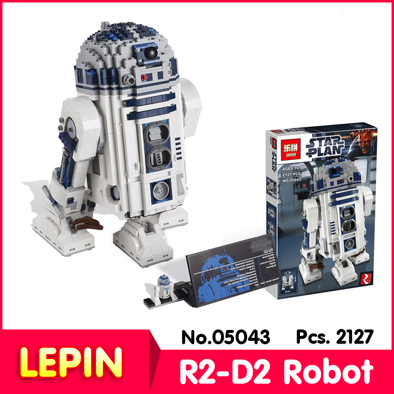 LEPIN 05043 2127Pcs With Original Box Star War Series The R2-D2 Robot Model Building Blocks Bricks Compatible With Legoe 10225<br><br>Aliexpress