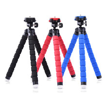 Fusitu Octopus Mini Portable Flexible Mobile Mini Tripod Stand Gorillapod For iPhone 6 7 GoPro Canon Nikon Sony Camera&Ball Head(China)