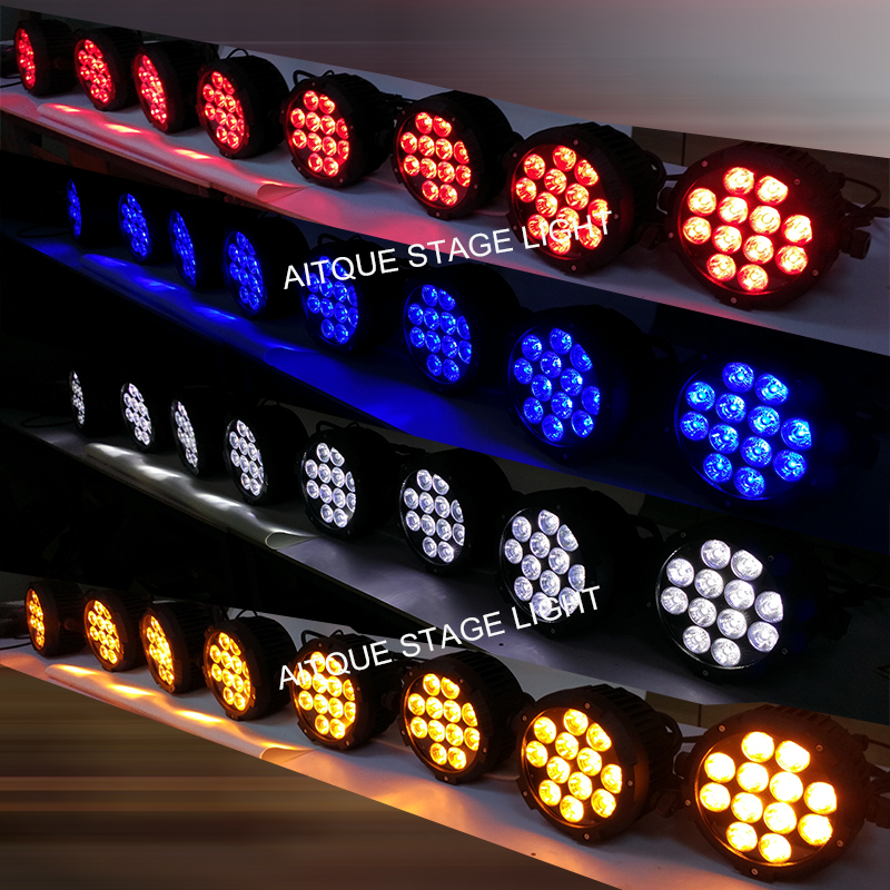 12pcs led par light 3