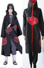 Naruto Akatsuki Cosplay Orochimaru uchiha madara Sasuke itachi cloak clothes(China)