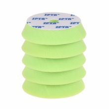 "SPTA 10Pcs 6""(150mm) Green Soft Hardness Polishing Waxing Buffing Polishing Pads Kit Set For Car Polisher --DIY Quality(China)"